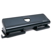 Perforator 4 gaten Rapesco - capaciteit 22 vellen - zwart
