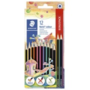 Sleeve of 10 + 2 free color pencils Staedtler Noris®185