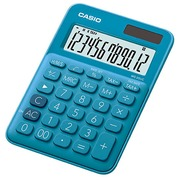 Calculatrice de bureau Casio MS20 UC bleu