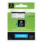 DYMO D1 - etikettape - 1 rol(len) - Rol (1,2 cm x 7 m)