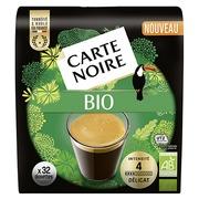 Dosettes de café Carte Noire Bio - Paquet de 32