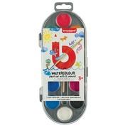 Boîte de peinture Bruynzeel Kids 12 pastilles assorti