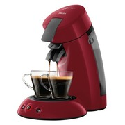 Philips Senseo Original HD6553 - coffee machine - 1 bar - rio red