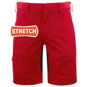 2522 Service Shorts Red C44