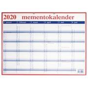 Calendrier Mémento néerlandais 2020