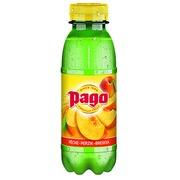 Fruit juice Pago peach 33 cl - box of 12 bottles