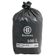 Sac poubelle 100 litres Bruneau - Colis de 200