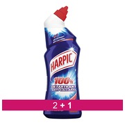 Pack 2 +1 Gel WC Harpic fresh - bottle of 750 ml