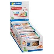 Reep droge vruchten en honing glutenvrij Bio Bjorg - Reep van 25 g