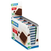 Rice biscuits with black chocolate gluten-free Bio Bjorg - pocket size 22,5 g