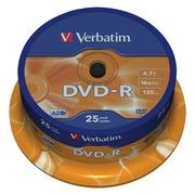 Verbatim - DVD-R x 25 - 4.7 GB - storage media