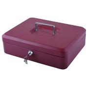 Coffret caisse Pavo avec monnayeur 300x240x90mm rouge