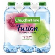 Eau Chaudfontaine Fusion framboise/citron vert bouteille PET 0,5L
