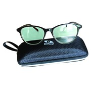 Glasses female blue light filter black frame