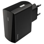 Chargeur Hama USB-A 2.4A noir
