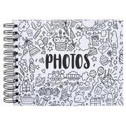 Album photo à spirales 50 pages noires - Format 23x16cm - GRIBOUILLE