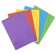 Paquet de 25 chemises coin Forever 290g/m² - 22x31cm - Couleurs assorties (48100E)