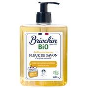 Savon gel pour les mains miel de fleurs et citron Briochin - Flacon 400ml