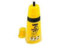 Colle Uhu Twist & Glue avec solvant - flacon de 35 ml