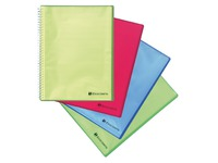Reversible show album Exacompta Linicolor 40 sleeves - assorted colors