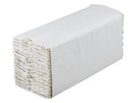 Essuie-mains écologique pliage en C beige - Carton de 2400