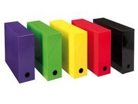 Storage box, assorted vivid colours, 90 mm