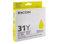 Cartridge gel-inkt kleur Ricoh GC-31