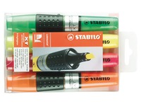 Highlighter Stabilo Luminator assorted colours - Pack of 4