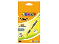 Highlighter Bic Technolight assorted colours - Set of 5