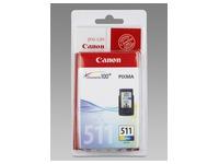 Cartridge 3 kleuren Canon CL-511