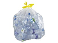 Box 100 plastic bags 100 L transparent