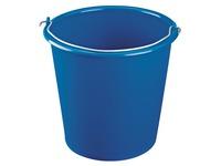 Ronde emmer 10 liter blauw