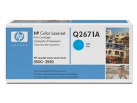 Toner HP 309A cyaan