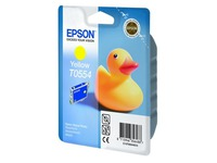 Cartridge Epson T0554 geel