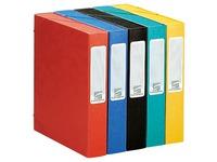 Ordnungsmappe Cartobox Cartorel Glanzkarton 7/10 Rücken 6 cm - Auswahl von Farben