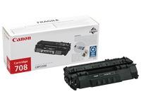 Cartridge zwart Canon CRG 708