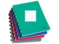 Notebook Atoma A5 144 pages checked 5x5