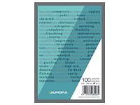 Notepad Aurora A6 105 x 148 mm plain 100 sheets