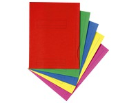 File folders 2 flaps assorted colours