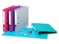 Classeur à levier plastifié Esselte Chromos Plus A4 - Dos 5 cm couleurs tendance assorties