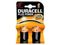 Pile C - LR14 Duracell Plus Power - Blister de 4 piles