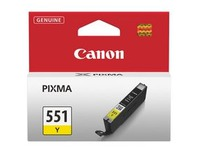 Cartridge Canon CLI-551 afzonderlijke kleuren