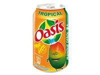 Packung 24 Dosen Oasis Tropical Dosen 33 cl