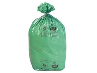 Ecological bags 110 L - pack of 2000 - green