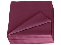 Gepolsterte einfarbige Tischservietten Lotus - Paket von 150