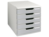 Modulo drawer set, 5 drawers