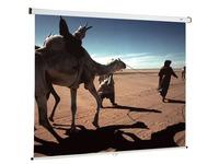 Projectiescherm met muurbevestiging Oray manueel 200 x 200 cm
