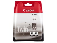 Pack Canon PGI 35 zwart 2 cartridges voor inkjetprinter