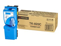 TK820C KYOCERA FSC8100DN TONER CYAN (120033440178)