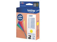 Cartridge Brother LC223 geel voor inkjetprinter